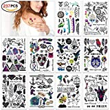 Temporäre Klebe Tattoos Flash Tattoos temporär Tätowierung Körperkunst Aufkleber Tattoos