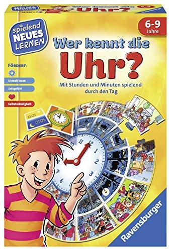 """Ravensburger 24995"""" Wer kennt die Uhr Lernspiel"""