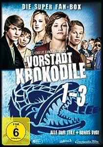 Vorstadtkrokodile 1-3 [4 DVDs]