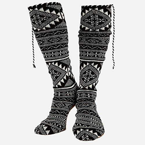 Volcom Moclov Mukluks Womens Socks Black (Schwarz Mukluks)