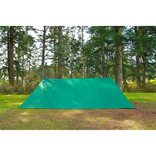 61vv5r7SyBL. SS500  - Aqua Quest Guide Tarp - 100% Waterproof Ultralight RipStop SilNylon Backpacking Rain Fly - 3x2, 3x3, 4x3, 6x4 Green or…
