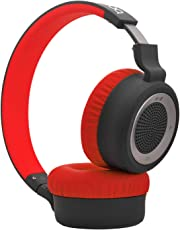 boAt Rockerz 430 Bluetooth Headphones with Mic (Red)