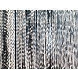 Perlenvorhang transparent extra-dicht/extra viele Stränge