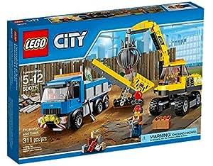 LEGO® City - 60075 - Jeu De Construction - L'excavatrice Et Le Camion