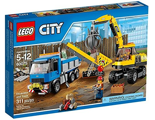 LEGO CITY DEMOLITION - EXCAVADORA PARA LA DEMOLICION (60075)