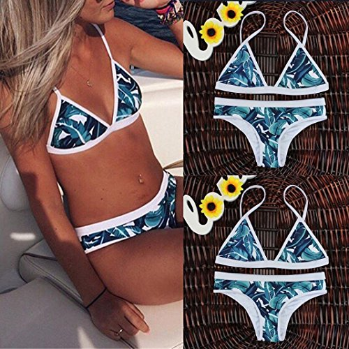 3d78f3f090881 ... Damen Badeanzug Jamicy® Womens Schwimmen Kostüm Gepolsterte Badeanzug  Monokini Bademode Push Up Bikini Sets Multicolor ...