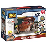 Jumbo Bob der Baumeister 18groß doppelseitig Puzzle & Farbe Puzzle