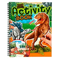 Depesche 6640 - Activity Book Dinosaur World