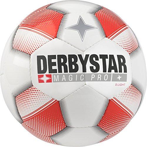 Derbystar Magic Pro S-Light, 5, weiß rot, 1118500130 -