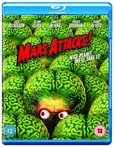 Mars Attacks! [Blu-ray] [UK Import]