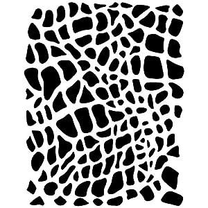 Eulenspiegel- Reptile Plantilla de pintura facial (109366)