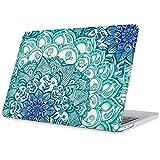 Fintie Funda Dura para Macbook Pro 13 2016 - Slim Laptop Suaves Carcase de plástico ligera Snap Case Cover para Newest MacBook Pro 13 Pulgadas de modelo A1706 / A1708 con / sin Touch Bar and Touch ID, Ilusiones Esmeralda