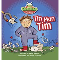 [( Comics for Phonics Tin-man Tim Pink A Sets 1-2 )] [by: Celia Warren] [May-2012]