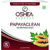 Oshea Papayaclean Anti Blemish Cream, 50 G (Orange)