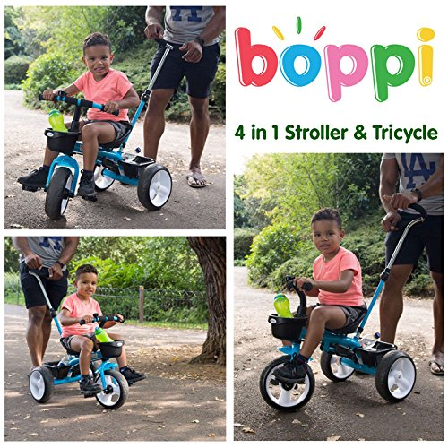 Boppi 4-in-1 Pink Tricycle for kids