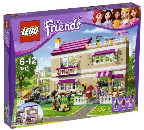emmas familienhaus lego LEGO Friends 3315 - Traumhaus