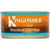 Kingfisher Shredded Krabbenfleisch (170g) - Packung mit 2