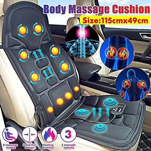 Massage-Matte Multifunktionsmassageeinrichtungen, Massage-Matratze elektrische Massage-Stuhl-Auto-Kissen, Ganzkörper-Beheizte Massage-Matratze für Relieving Rückseiten-Rückenbeinschmerzen