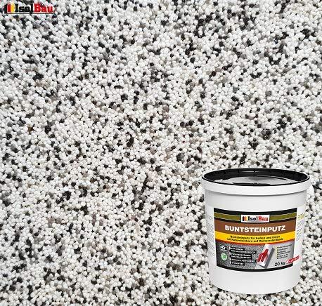 Buntsteinputz Mosaikputz BP10 (weiss, grau, schwarz) 20kg Absolute ProfiQualität