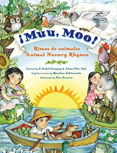 Muu, Moo!: Rimas de Animales/Animal Nursery Rhymes por Alma Flor Ada