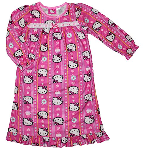 Hello Kitty Little Girls Granny albornoz camisón