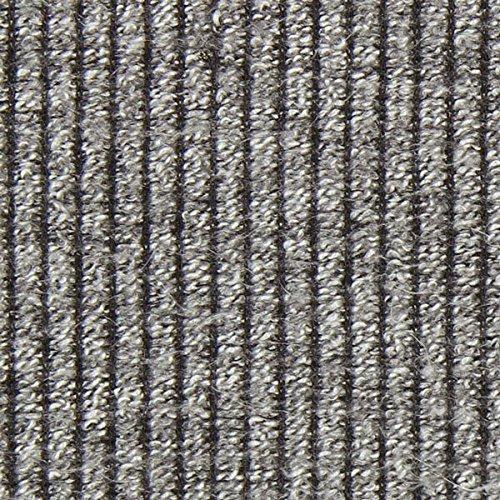 Fabulous Fabrics Strickstoff Rippe - grau - Meterware ab 0,5m - zum Nähen von Strickkleider, Strickjacken und Pullover (Stricken Weste Rippe)