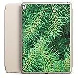 Apple iPad Pro 10.5 2017 Smart Case sand Hülle mit Ständer Schutzhülle Farn Dschungel Wald