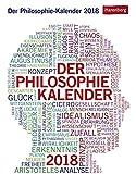 Der Philosophie-Kalender - Kalender 2018 - Julius Maria Roth, Paul Schulmeister
