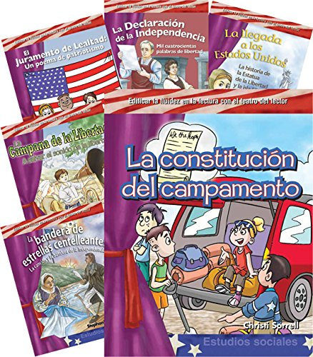 My America 6-Book Spanish Set (Reader's Theater) (Teacher Created Materials Library)