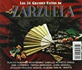 24 Grandes Exitos de la Zarzue [Import allemand]