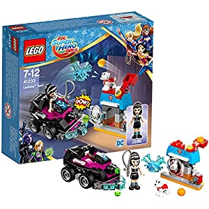 LEGO DC Super Hero con fidential Girls Ip Vehicle E Costruzioni Piccole Gioco Bambina, Multicolore, 41233 5702015865500 LEGO