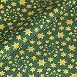 Sterne Baumwollstoff Meterware Dekostoff Weihnachten