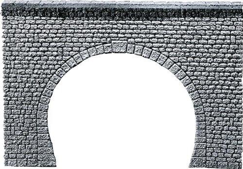 "FALLER 170881 - Tunnelportal Profi \""Naturstein Quader\"", 2-gleisig"