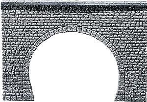 """FALLER 170881  - Portal del túnel Pro sillar """", de dos vías importado de Alemania"""