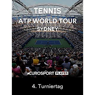 Tennis: ATP World Tour in Sydney (AUS) - 4. Turniertag