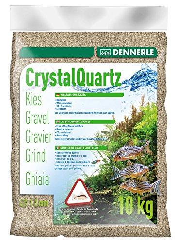Dennerle 1729 Kristall-Quarzkies, 10 kg, naturweiß