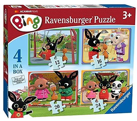 Ravensburger Bing Bunny 4in einer Box (12, 16, 20, 24-) Puzzle