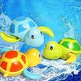 Bluelans Cute Cartoon Animal Tortoise Swim Wind Up Chain Clockwork Kid Bathing CM© toy for Kids Boys Girls Xmas Gifts Xmas Stocking Fillers Party Bag Gifts