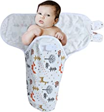Kassy Swaddle 100% Cotton Adjustable Infant Swaddle (Wrap), Colorful Printed Cotton Swaddles, Best Unisex Baby Products for Baby Shower Gifts (Color 17)