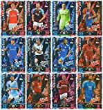Picture Of MATCH ATTAX 2018/19 FULL SET OF TWELVE (12) STAR SIGNINGS CARDS #373-384