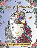 Best Libros En Meditaciones - Libros de colorear para adultos: Los animales de Review