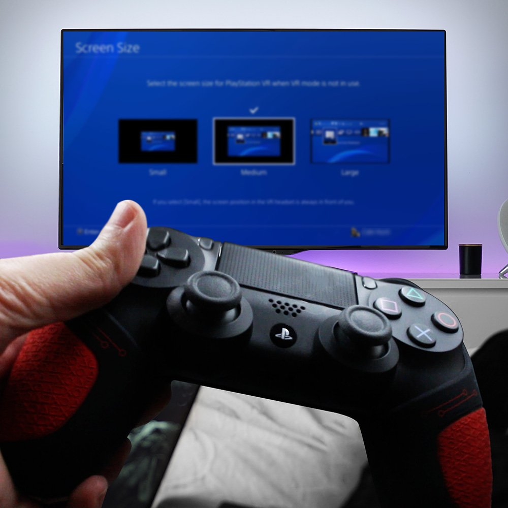 PS4 CONTROLLER THUMB GRIPS - Official Playstation silicone