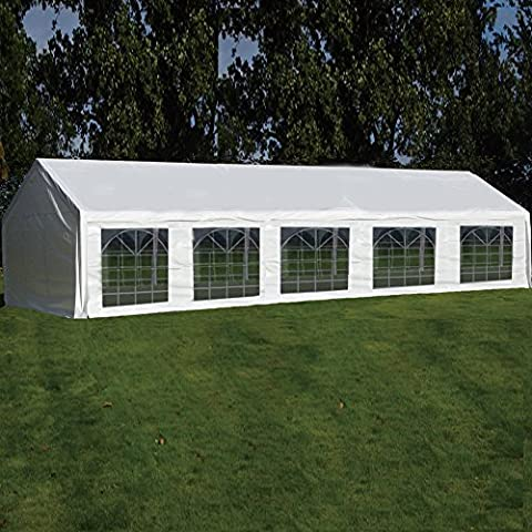 Quictent 4X10M (13X33FT) white Marquee Heavy Duty waterproof wedding party