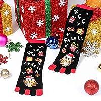 YuzhouGJ Amazing Warm Style Trendy Fluffy Xmas Women Cute Winter Socks Lady Gift Design in fine style(None Black)