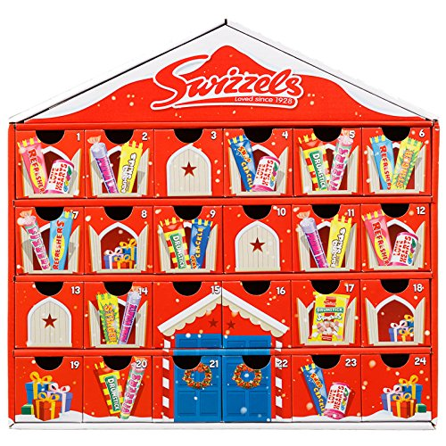 * NEW * Swizzles Retro Sweet House Advent Calendar. Enkoy a retro countdown to Christmas!