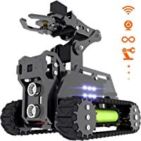 Adeept RaspTank WiFi Smart Robot Auto Kit Wireless Smart Robot per Raspberry Pi 4/3 Modello B+/B/2B, Tank Tracked Robot…
