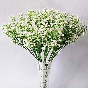 10 k nstliche blumen modische wei e gladiolen sch n f r zuhause. Black Bedroom Furniture Sets. Home Design Ideas