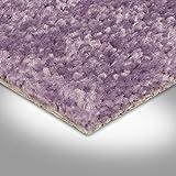 BODENMEISTER BM72182 Teppichboden Auslegware Meterware Hochflor Shaggy Langflor Velour lila rosa 400 cm und 500 cm breit, verschiedene Längen, Variante: 2,5 x 4 m