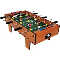 divine man Big-Sized Foosball, Medium Football, Table Soccer Game, 6 Rods,69* 37*24 Inches