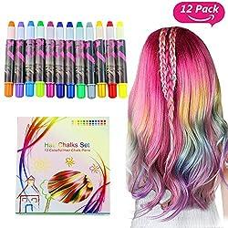 Beschreibung Buluri Haarkreide bringt mit fantastischen Designs Farbe in dein Haar. Du kannst alle Farben mischen,die kreativen Möglichkeiten sind endlos. Sehr leichtauf diehellen Haarfarben anzuwenden. Auf dunklen Haaren empfehlen wir, zuerst di...